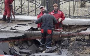 Измаил: Для восстановления провала нужно 85 тыс. грн.