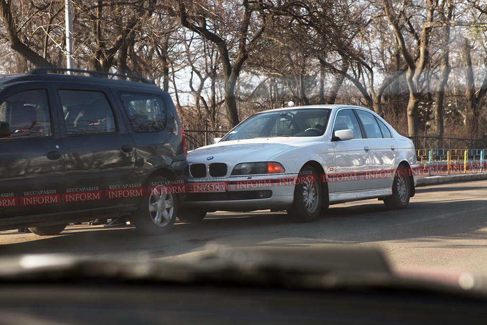 ДТП Измаил: Из-за царапины - два часа неудобств на дороге. (фото)