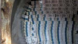 Белгород-Днестровский: выявлено 185 ящиков с  сигаретами
