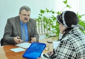 Н. Пундик пообещал вилковчанам решить все вопросы