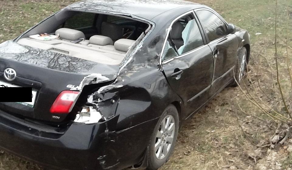 ДТП на трассе Одесса - Рени: столкнулись две Toyota Camry и фура