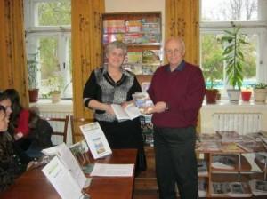 Белорусский писатель приехал в Рени