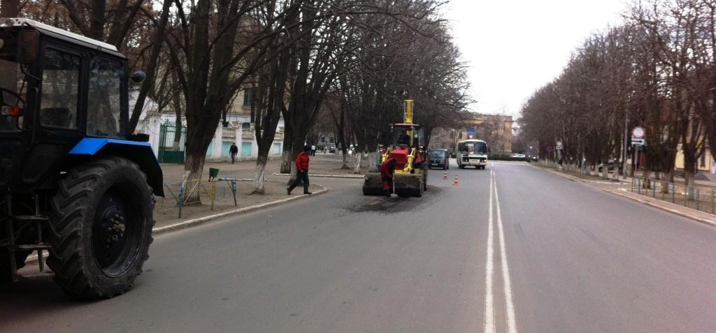 В Измаиле начался ремонт отремонтированных дорог