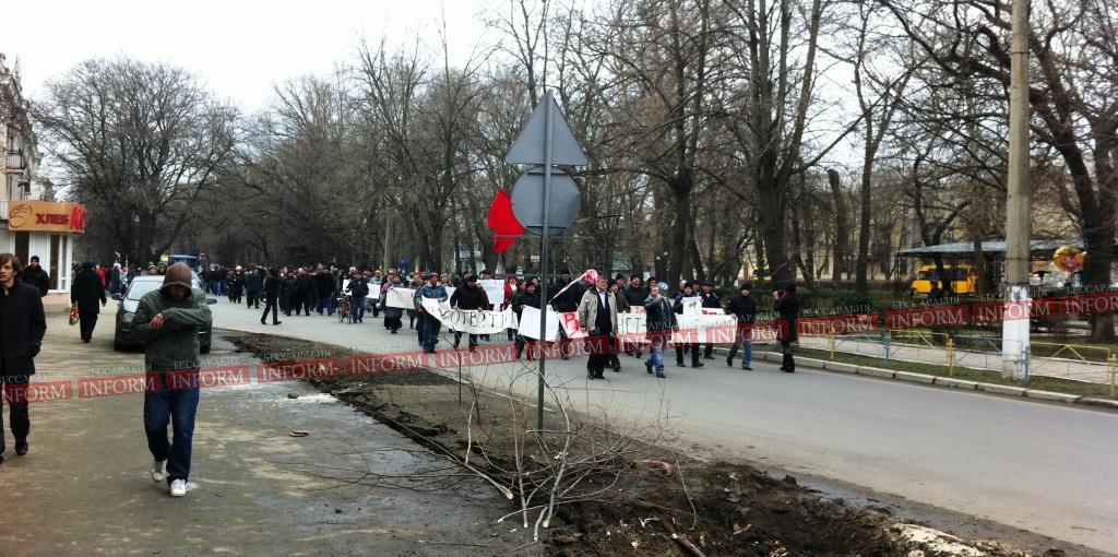 """Измаильские портовики: """"Одно решение - сопротивление!"""" (фото +видео, обновлено)"""
