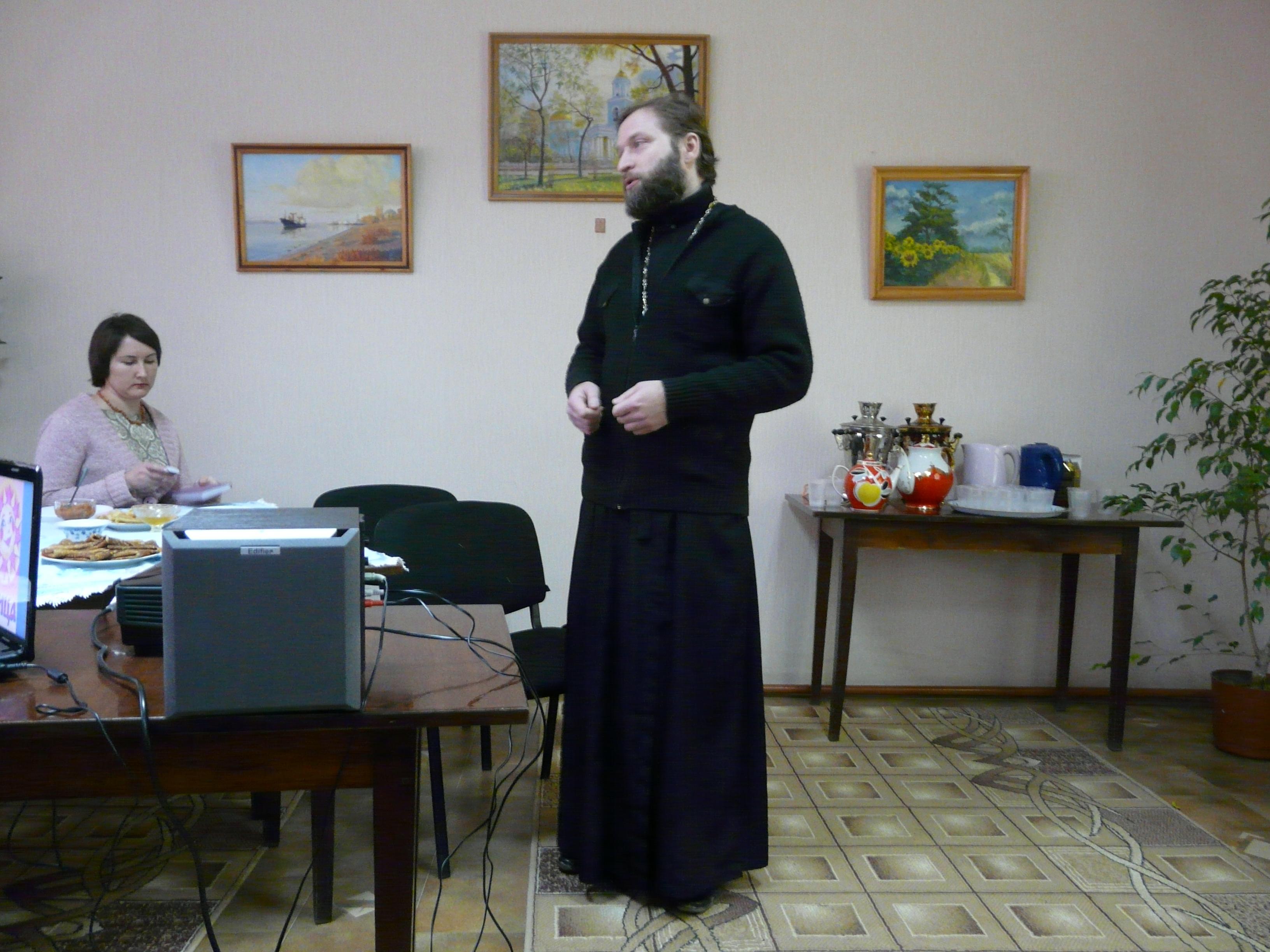 Измаил: Библиотека Котляревского угощает блинами