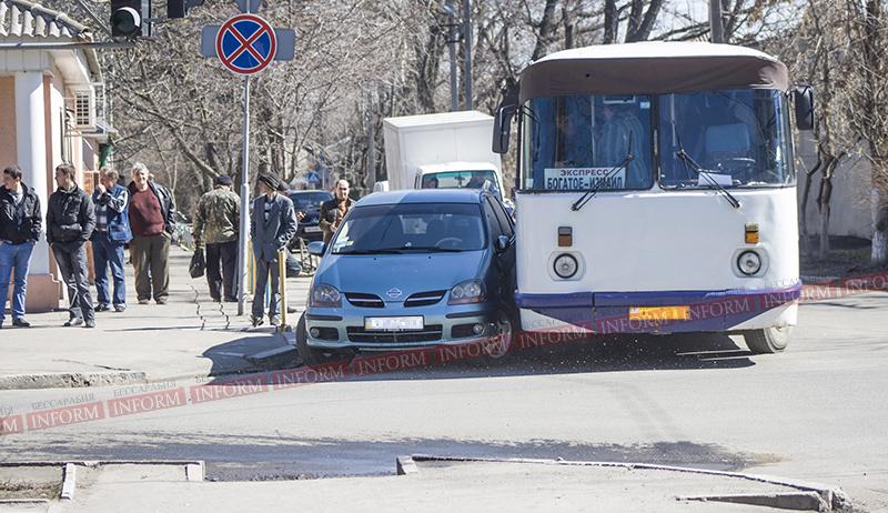 Измаил: Очередное ДТП на светофоре. (фото)