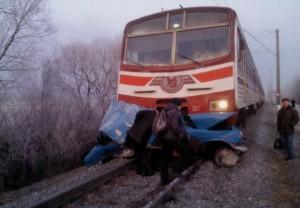 Арциз: столкнулся поезд и автомобиль