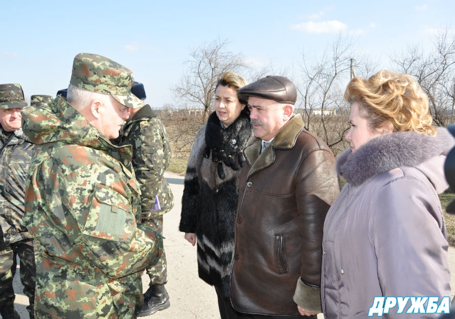 Болград посетил начальник Генштаба Вооруженных сил Украины