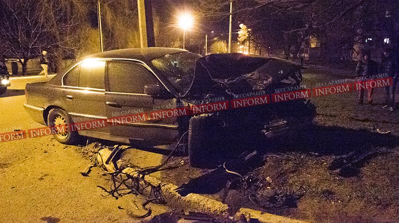 Жертвой ночного кровавого ДТП в Измаиле стал таксист (фото, обновлено)