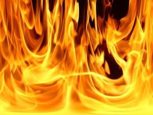 В Измаильском районе сгорела постройка