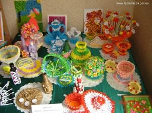 В Измаиле открылась выставка детского  творчества