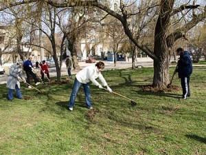 Сделаем город чистым - Измаил выходит на субботник