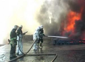 Б.-Днестровский: сгорел продуктовый магазин