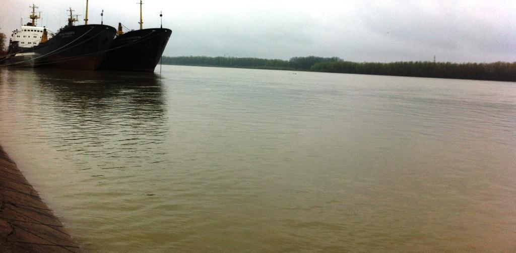 Фоторепортаж: Дунай наступает