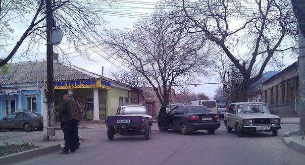 Очередное ДТП в Измаиле произошло из-за невнимательности (фото)