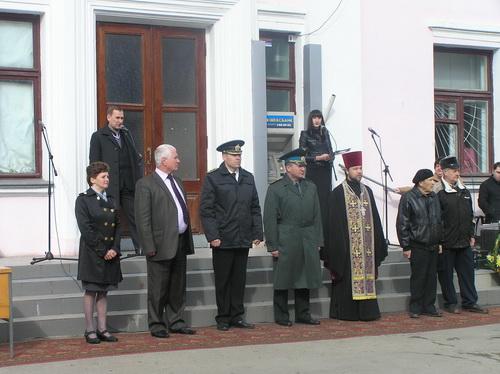 Килия провела призывников на службу в Вооруженные силы Украины