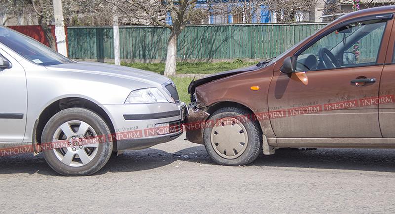 "ДТП при въезде в Измаил: ""Octavia"" vs. ""Lada Kalina"" (фото)"