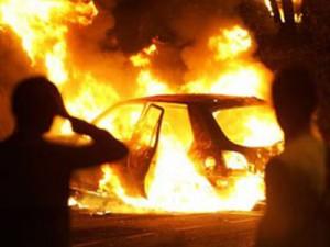 Рени: «Ford Fiesta» попал в аварию и чуть не сгорел