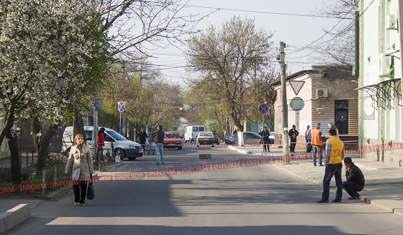 Вниманию водителей Измаила: ул. Савицкого заблокирована. (фото)
