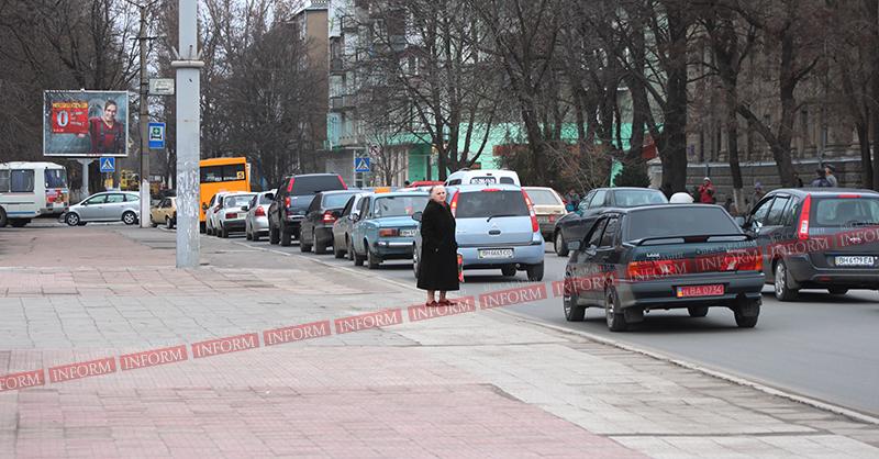 Вниманию водителей! Движение в Измаиле  затруднено (Фото)