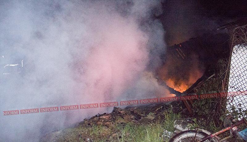 В Измаиле пожарные 30 минут ехали до места происшествия. ФОТО