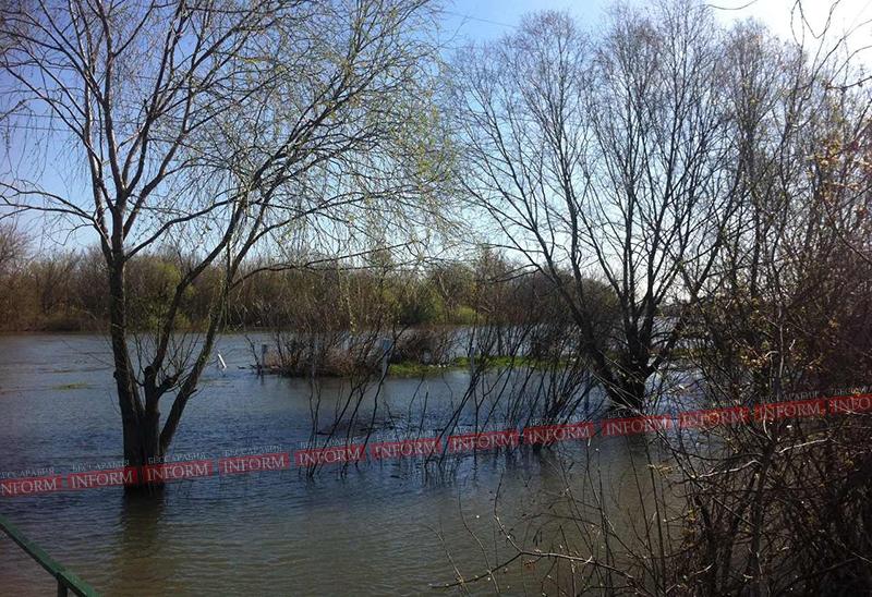 Ждем потоп: повышение воды в Днестре и Дунае(фото)