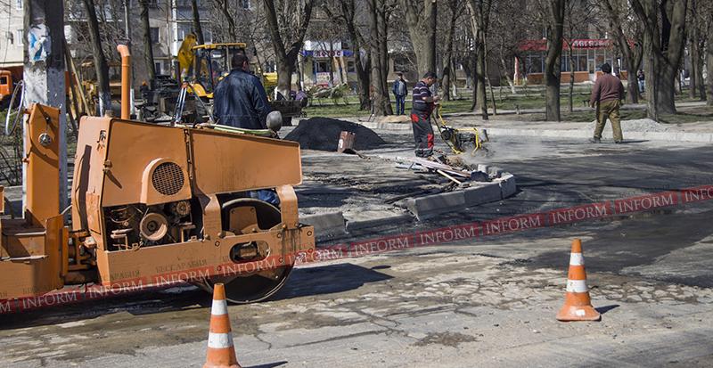 Внимание, водители: ремонтные работы по ул. Горького (фото)