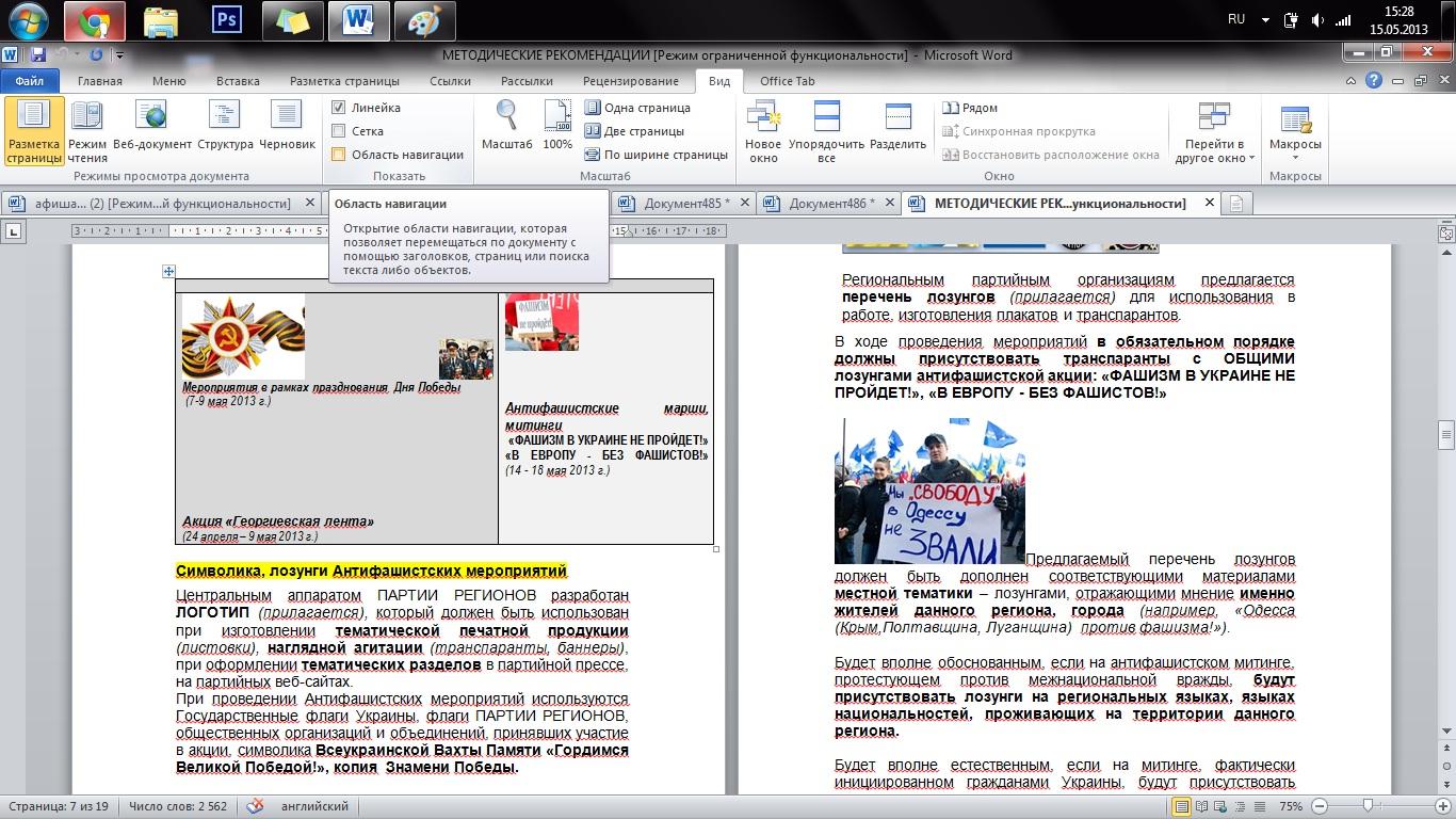 """В Бессарабии все, кто против """"регионалов"""" - фашисты (фото)"""