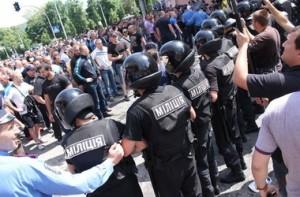 На вчерашнем митинге жестоко избили журналистку