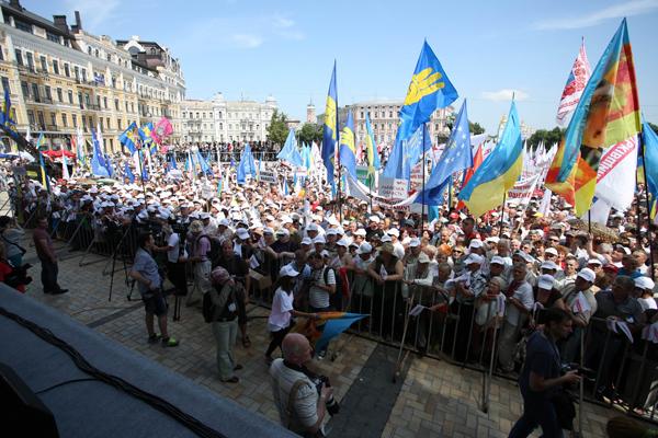 18 Мая, Киев: Две акции –  две философии