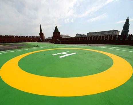 Вертолетная площадка Путина на 30 млн. $ дешевле чем у Януковича. ВИДЕО