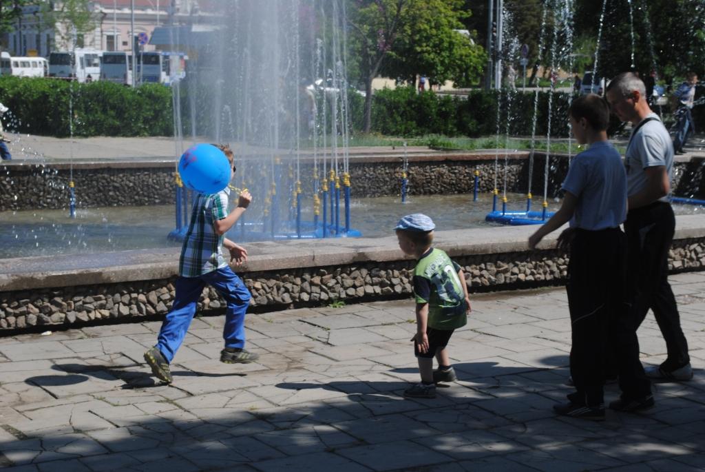 В Измаиле заработал фонтан (фото)