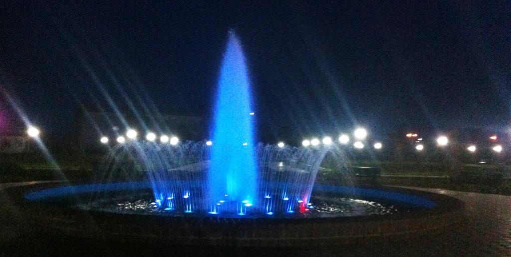 Фото дня: лучший фонтан Бессарабии открыл сезон