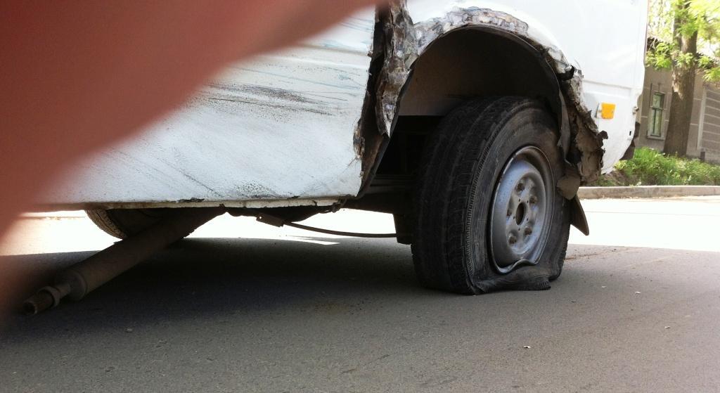 Измаил: пасхальное ДТП на ул. Савицкого (фото)