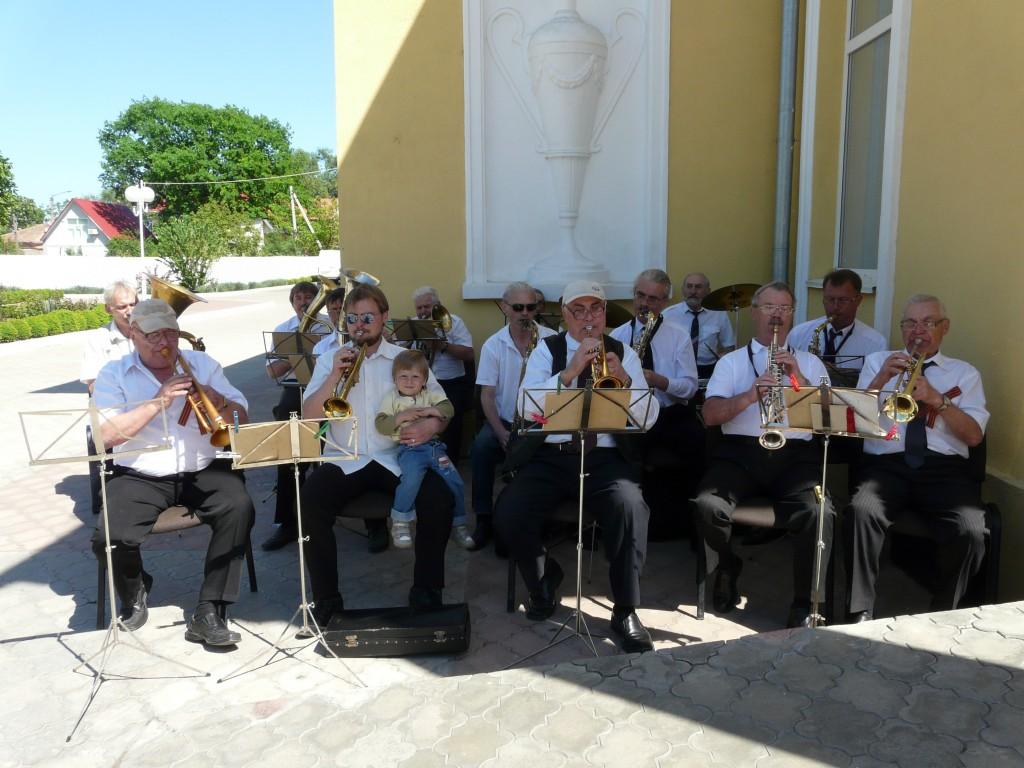 Измаильский Дворец культуры трогательно поздравил ветеранов (фото)