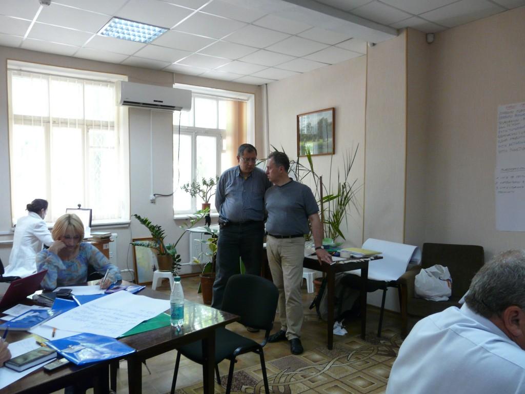 В Измаиле тренировались влиять на власть