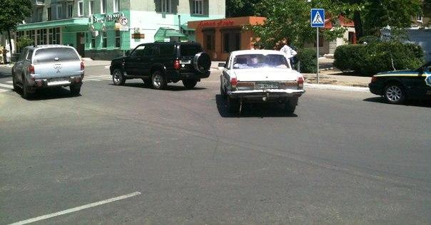Заместитель мэра устроил ДТП в центре Измаила(фото)