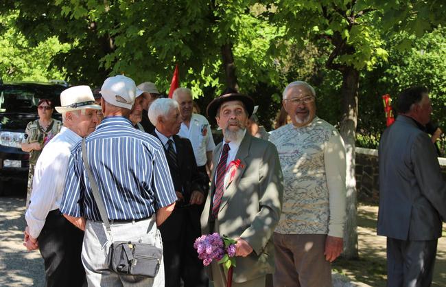 Белгород-Днестровский отмечает День труда (фото)