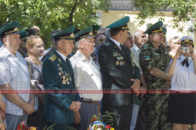 В Измаиле торжественно открыли памятник пограничникам(фото)