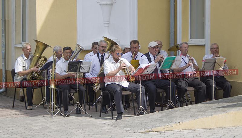 Измаильчан порадовал духовой оркестр (фото)