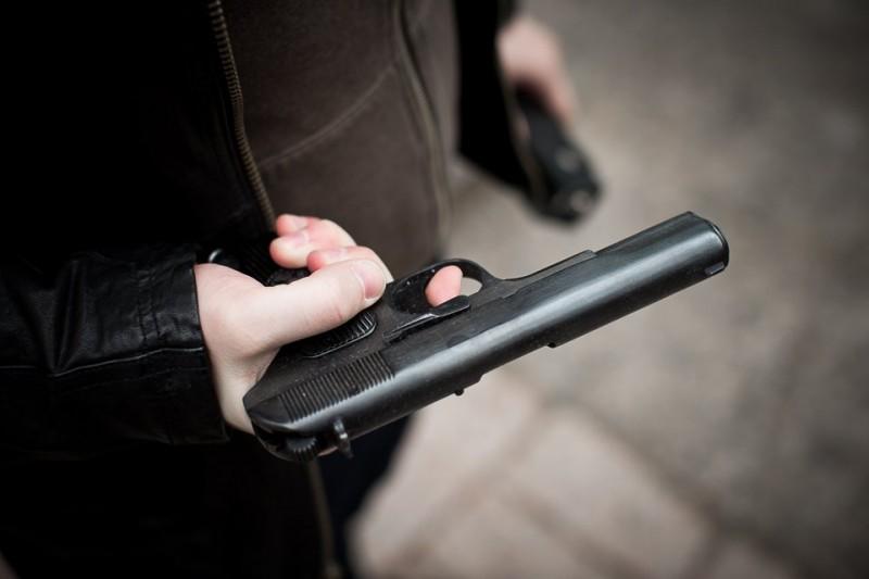 При обыске измаильчанина, милиция обнаружила пистолет с патронами