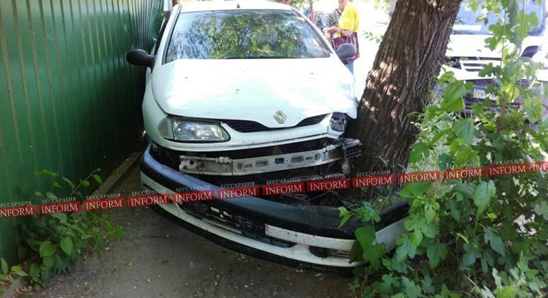 """Измаил: очередное ДТП на Савицкого """"Renault vs Nissаn"""" (фото)"""