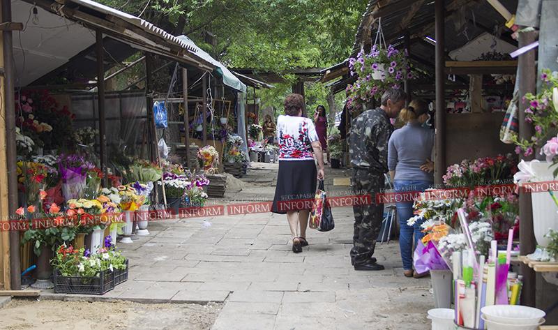 Цветочный рынок Измаила разгромлен