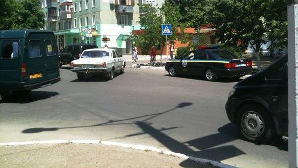 oTkW3LmsIYo Заместитель мэра устроил ДТП в центре Измаила(фото)