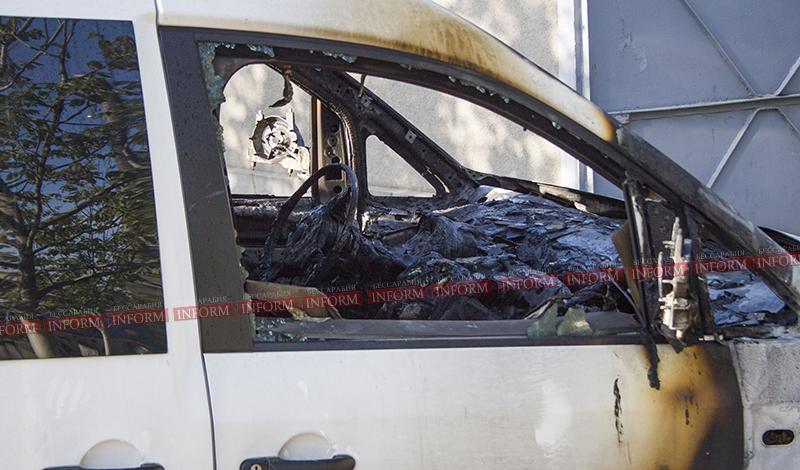 v izmaile podojgli caddy 1 Первомай прошел не без последствий; в Измаиле спалили очередную машину!