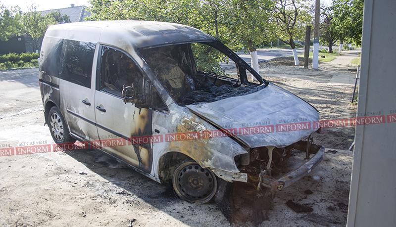 v izmaile podojgli caddy 2 Первомай прошел не без последствий; в Измаиле спалили очередную машину!