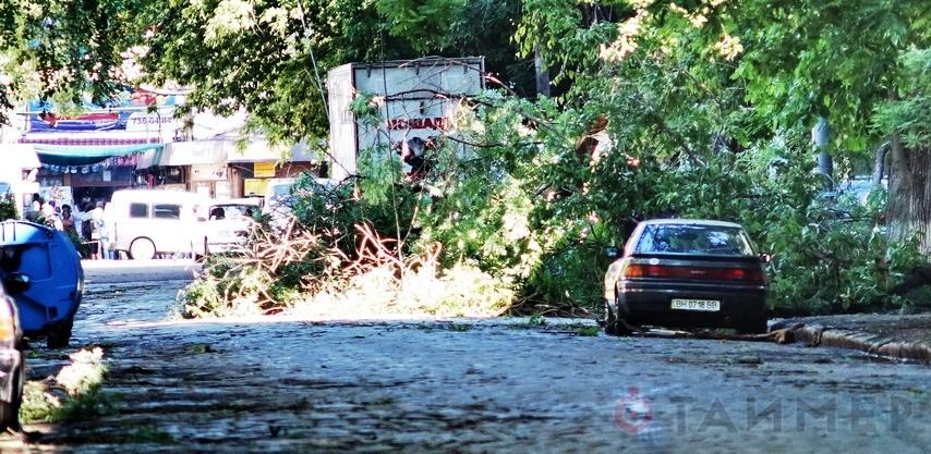Одесская область приходит в себя после жестокого удара стихии (фото, видео)