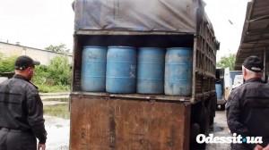 В Белгород-Днестровском не удалось переправить незаконный спирт
