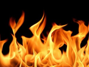 В Тарутинском районе сгорел сарай