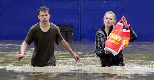 В конце июня европейский потоп «атакует» Придунавье?